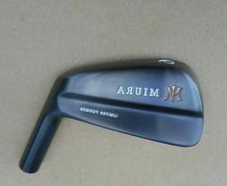 1 New Miura Golf Black Limited Forged Tournament Blade 6 iro