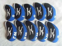 10pcs golf club headcovers for iron head