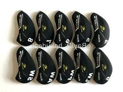 10PCS Golf Iron Headcovers for Cobra F8 Club Head Covers Cap
