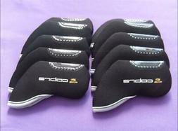 NEW 10PCS Golf Iron Covers RH Windows for Cobra Club Headcov
