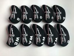 10PCS Protective Iron Covers for Taylormade M6 Club Headcove