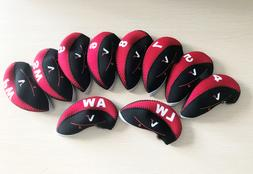 10x golf iron head cover headcover