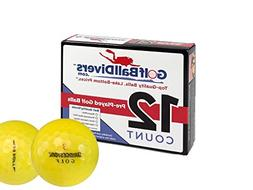 Bridgestone 12 e6 Soft Yellow - Mint  Grade - Recycled  Golf