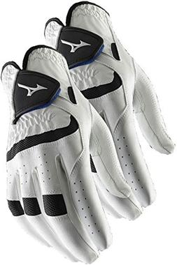 Mizuno 2 NEW Elite Mens Golf Gloves Large Cadet Left Hand L