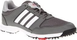 adidas Men's Tech Response 4.0 Golf Shoe,White/White/Dark Si