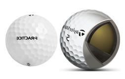 TaylorMade 2016 Tour Preferred Practice Balls, Two Dozen