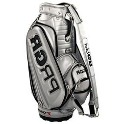 PRGR 2017 GOLF JAPAN CADDY BAG PRCB-171 Silver Contract prof