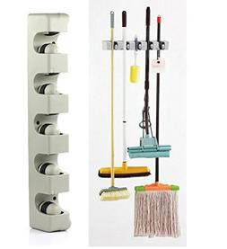 New 2017 Kitchen Organizer Wall Shelf Mounted Hanger 5 Posit