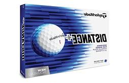 TaylorMade 2018 Distance+ Golf Ball, White