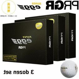 2018 PRGR Golf Ball Super Egg Ball NON-CFM 3 DOZEN BALL SET