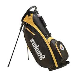 Wilson 2018 NFL Carry Golf Bag, Pittsburgh Steelers