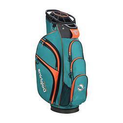Wilson 2018 NFL Golf Cart Bag, Miami Dolphins