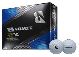 2018 Bridgestone Tour B XS Golf Balls 3 Dozen White NEW