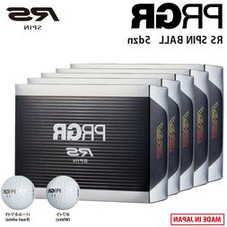 2020 Yokohama PRGR Golf Japan RS SPIN BALL 5dzn White or Pea