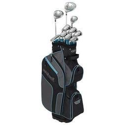 Tour Edge 2020 Women Bazooka 270 Full Golf Set Blk Grey Turq