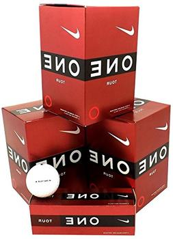 NIKE 3 Dozen NEW ONE Tour 36 Premium Golf Balls 3-Ball Sleev