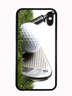 3 Iron Golf Club Hitting Golf Ball For Iphone X Anniversary