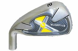 """38"""" Extreme X4 YELLOW SINGLE LENGTH IRONS MENS Golf Clubs 3-"""