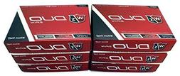 Wilson 6 Dozen NEW 2015 Staff DUO Spin Golf Balls 72 Balls -