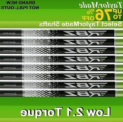 9 TaylorMade GRAPHITE IRON SHAFTS .355 STIFF