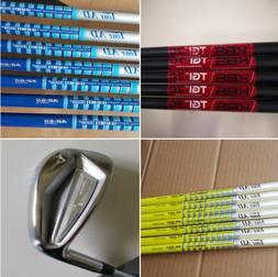 8PCS  Set Golf Forged Irons Golf Club Flex Steel Graphite Sh