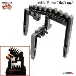 9 iron club holder black universal tool