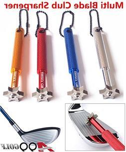 A99 Golf Multi Blade Club Sharpener Wedge & Iron Regrooving