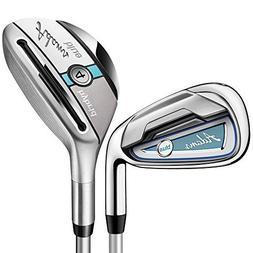 Adams Blue Hybrid Iron Set Ladies by Adams Golf