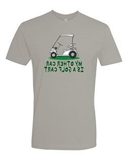 Panoware Men's Funny Golf T-Shirt | My Other Car is A Golf C