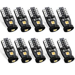 SEALIGHT 194 LED Bulb Interior Car Lights, 168 2825 W5W T10