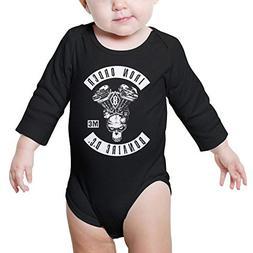 TylerLiu Iron Order Motorcycle Club Unisex Baby Boys Girls O