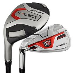 Wilson Golf- Staff Defy Hybrid Irons Graphite #4-6, 7-PW/GW