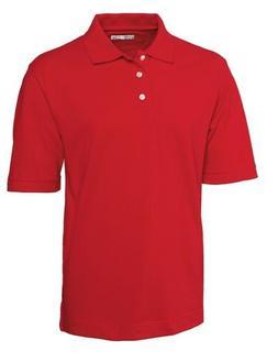 Cutter & Buck Men's Ace Golf Polo Red XXXL