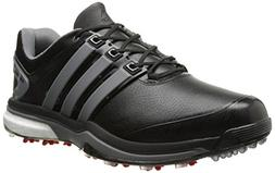 adidas Men's Adipower Boost Golf Shoe, Core Black/Iron Metal