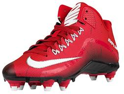 Nike Mens Alpha Pro 2 Football Cleat  US, Game Red/White/Bla