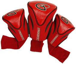 Arizona Diamondbacks 3-Pack Contour Golf Club Headcovers - S