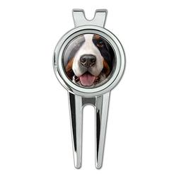 Graphics and More Bernese Mountain Dog Face Closeup Golf Div
