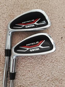 Blaster Nitro Golf Clubs 6 & 8 IRON Righty