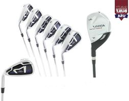 AGXGOLF BOYS RIGHT HAND  MAGNUM IRON SET: #3 HYBRID+5-9 IRON