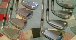 Brand New Taylormade Aeroburner Irons 4-AW Stiff