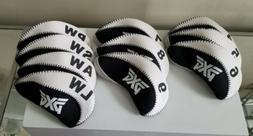 PXG Brand New! Black/White Iron Covers Set Of 10