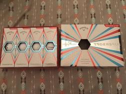 Brand New in Box Callaway Supersoft 1 Dozen Golf Balls