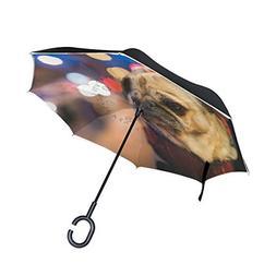 imobaby Bulldog Straight Self-standing Reserve Rain Car Umbr