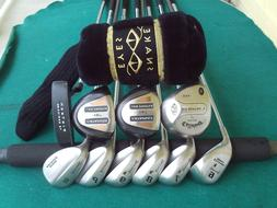 Callaway Spalding Cannon Irons Driver Woods Complete Golf Cl