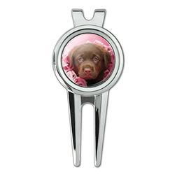 Graphics and More Chocolate Labrador Retriever Puppy Dog Pin
