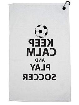 Hollywood Thread Classic Keep Calm and Play Soccer with Ball