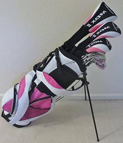 Ladies Complete Golf Club Set Driver, Fairway Wood, Hybrid,