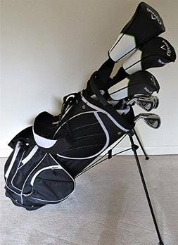 Callaway Mens Golf Set Driver, Wood, Hybrid, Irons, Putter,