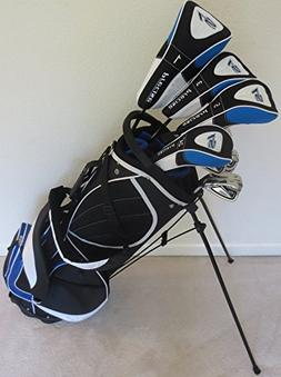 "Mens Complete Golf Set for Tall Men 6'0""- 6'6"" Driver, 3 & 5"