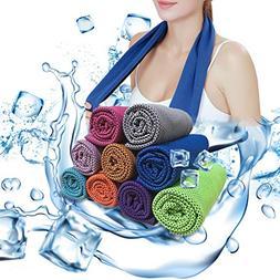 Soar Sports Cool Bowling Fitness Yoga Towels, Cool Towel for